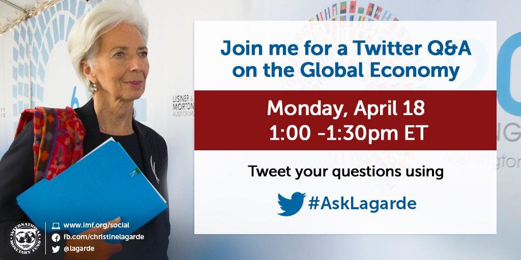 Christine Lagarde on Twitter:
