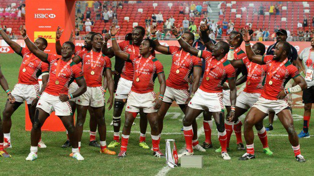 CONGRATULATION #Kenya7s for making history & flying the Kenya flag high by winning the first ever 7's series title. https://t.co/VlZe7cdTLU