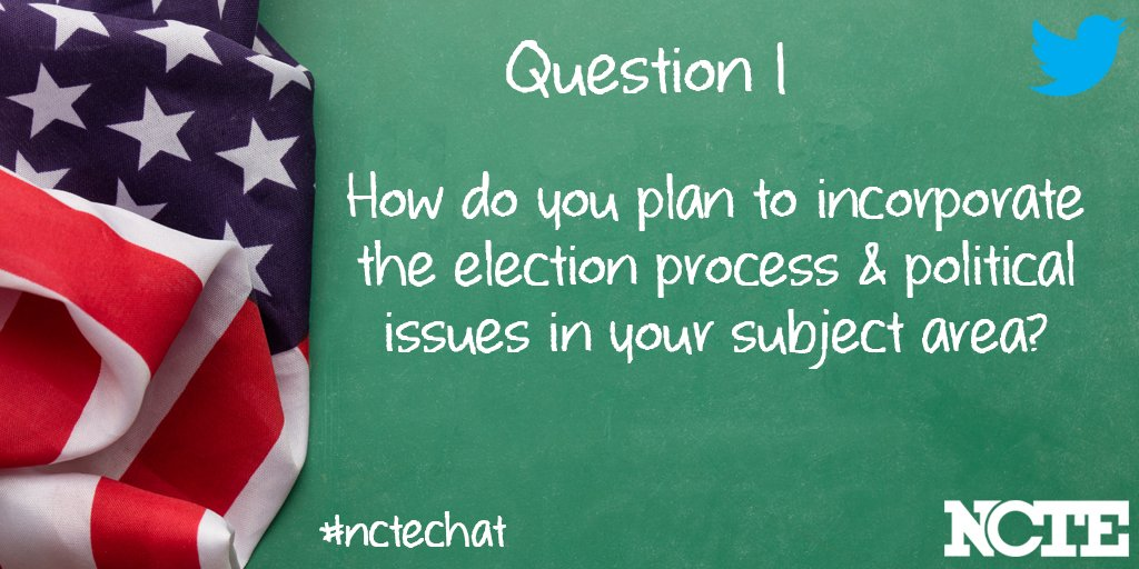 #nctechat Ok, everybody, welcome. Thanks for joining us. Here we go. Question #1 https://t.co/51J8Rrpcba