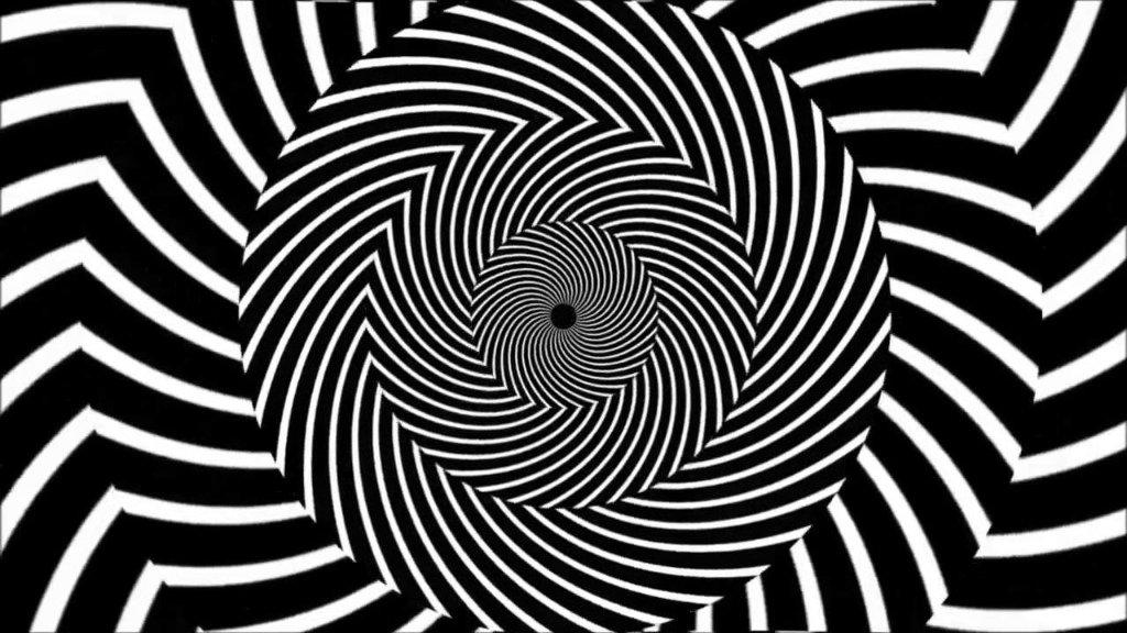 Видео гифка спираль для зрения