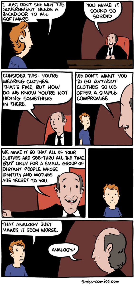 Back door analogy from @SMBCComics https://t.co/j7KyRuTszN https://t.co/jFkPYVVHFW