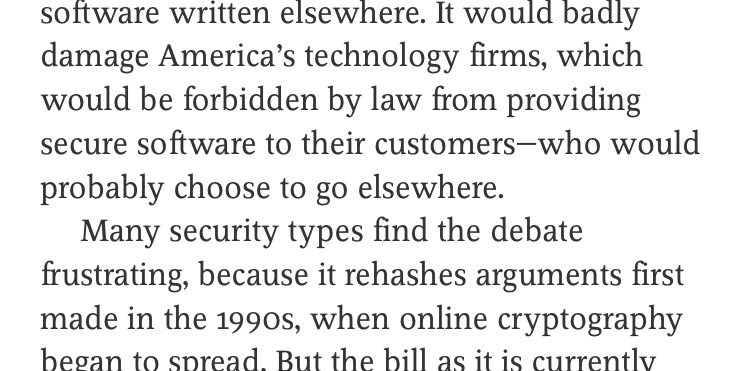 """Frustrating"" doesn't even begin to cover it. From @TheEconomist 
