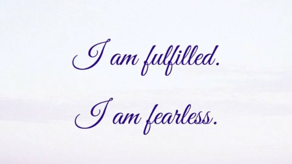Embracingmyself On Twitter I Am Fulfilled I Am Fearless Quotes