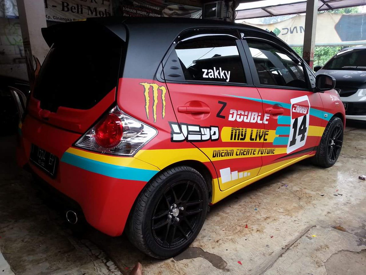 530+ Modifikasi Stiker Mobil City HD