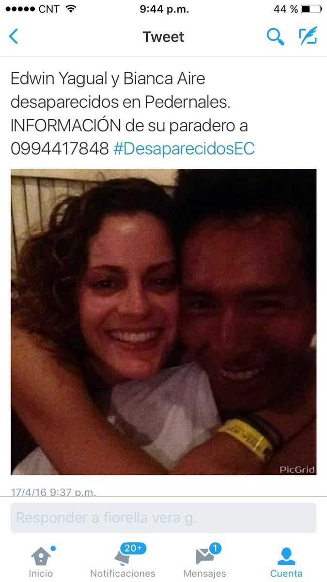 Apoyemos dando RT para que sigan encontrándose los #DesaparecidosEcuador  ¡Ayudémonos! https://t.co/3WhuPrYSXy