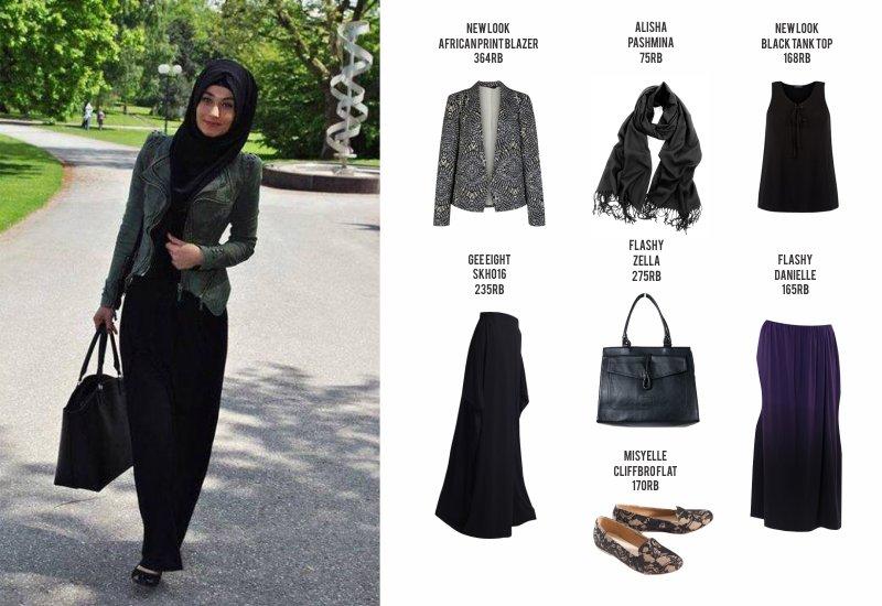 Bandung On Twitter Fashion Guide Casual Hijab Office