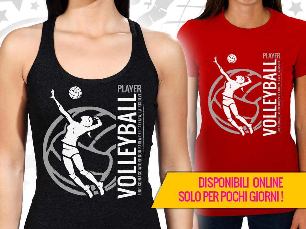 Donna Pallavolo Volley Pallavolista DNA Canotta