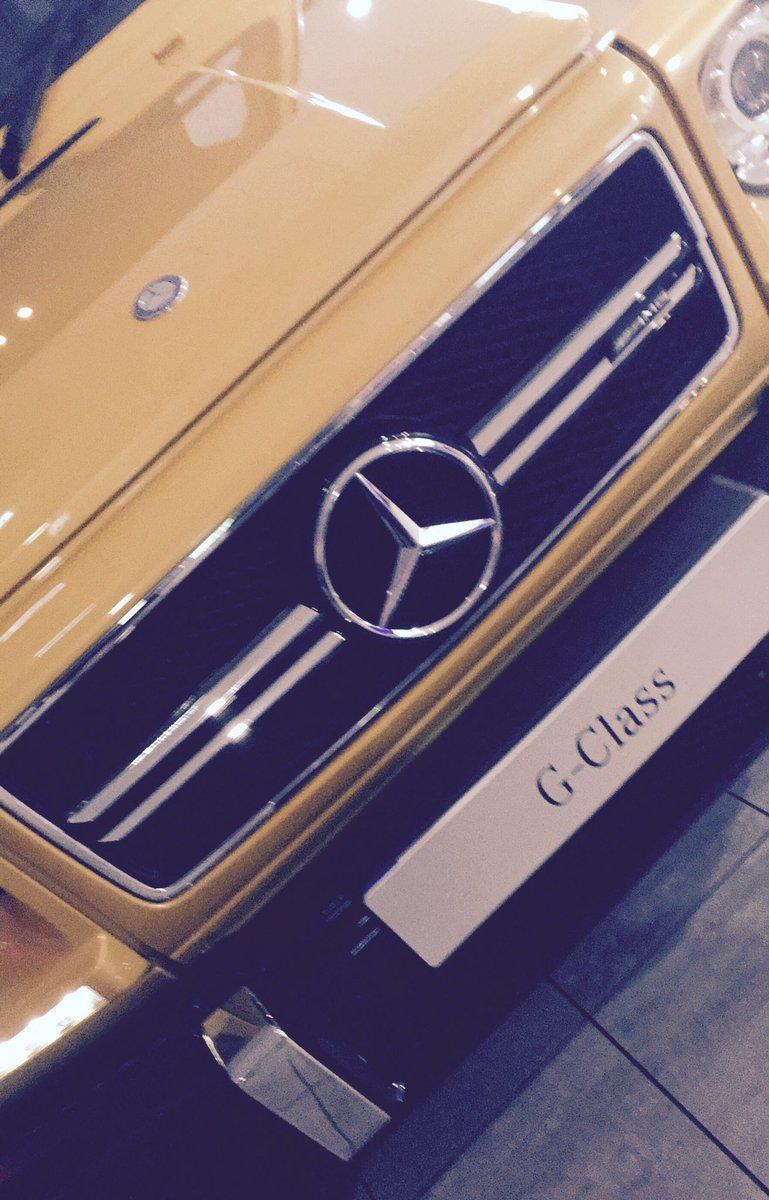 @EntGuideAwards @StratstoneMerc dare we say it, would even buy a yellow Mercedes as we loved this bad boy #mercedes