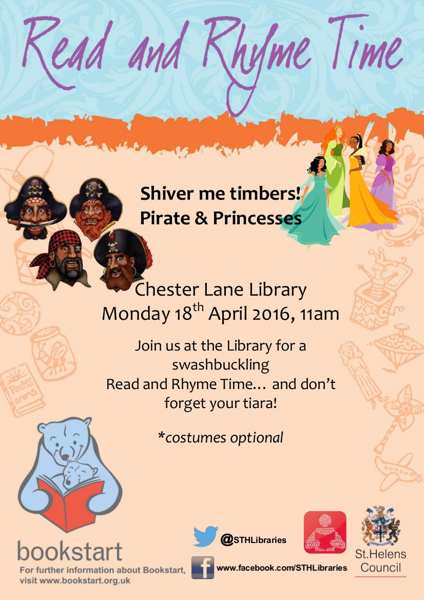 St Helens Libraries on Twitter: