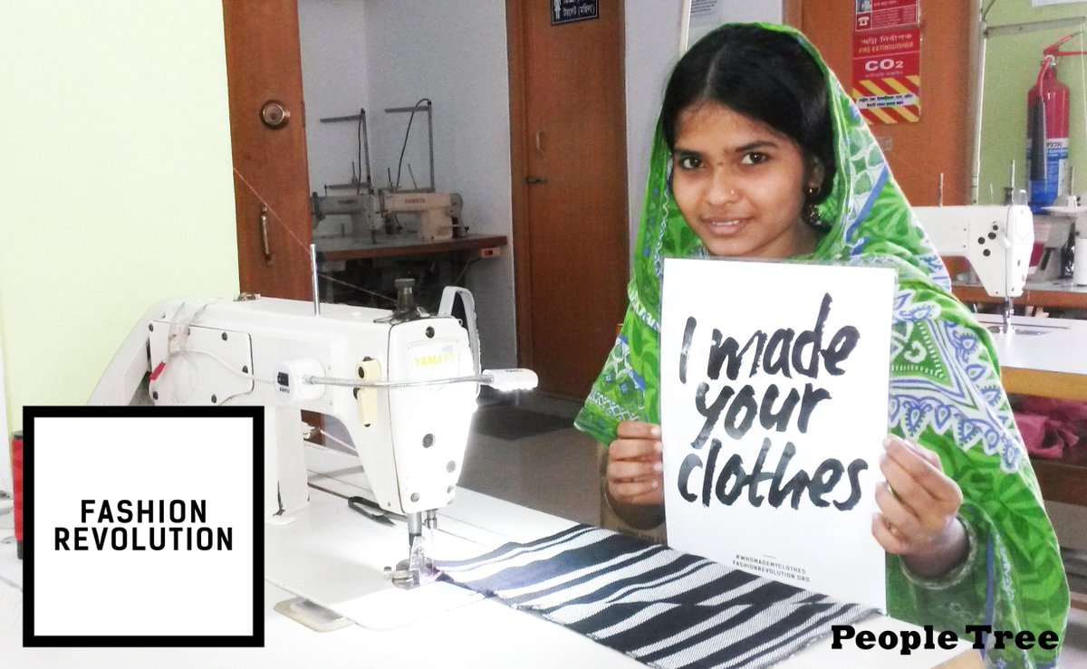 This #FashRev Week ask @PeopleTree #whomademyclothes & they'll tell you all about people behind their collections! https://t.co/lcbNa8FeHa
