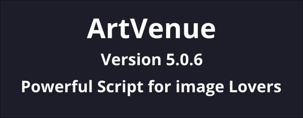 artvenue image sharing community script