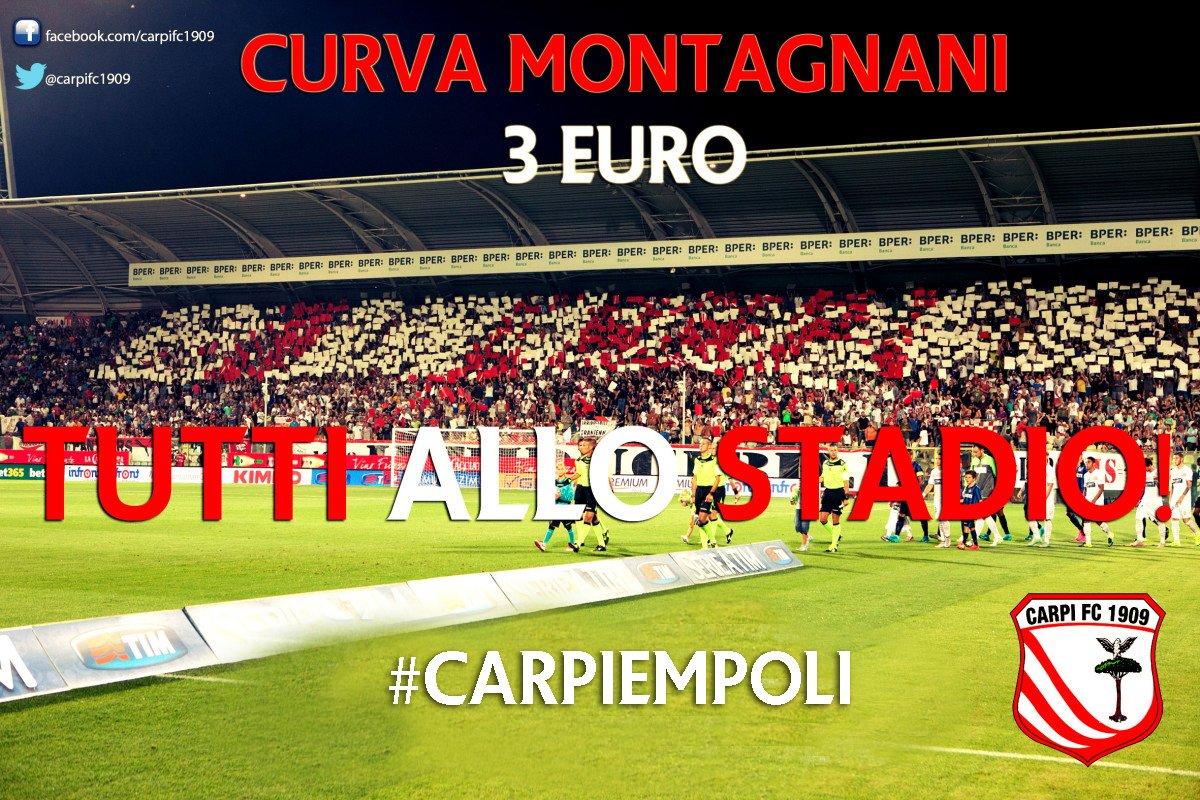 Carpi Empoli Streaming Diretta TV, vedere Rojadirecta Serie A TIM Mediaset Sky