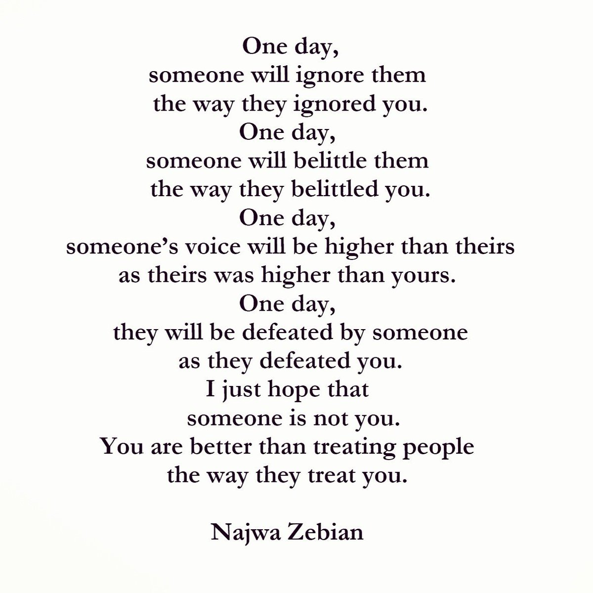 Najwa Zebian On Twitter Stay True To Yourself