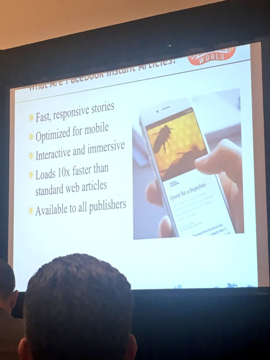What are Facebook instant articles? @ckroks #SMMW16 https://t.co/1dTGsY8Y6i
