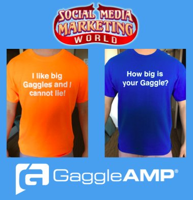Come by the GaggleAMP booth today & tomorrow to get yours before they run out #SMMW16 #SMMW https://t.co/cHKmv4F3Tc