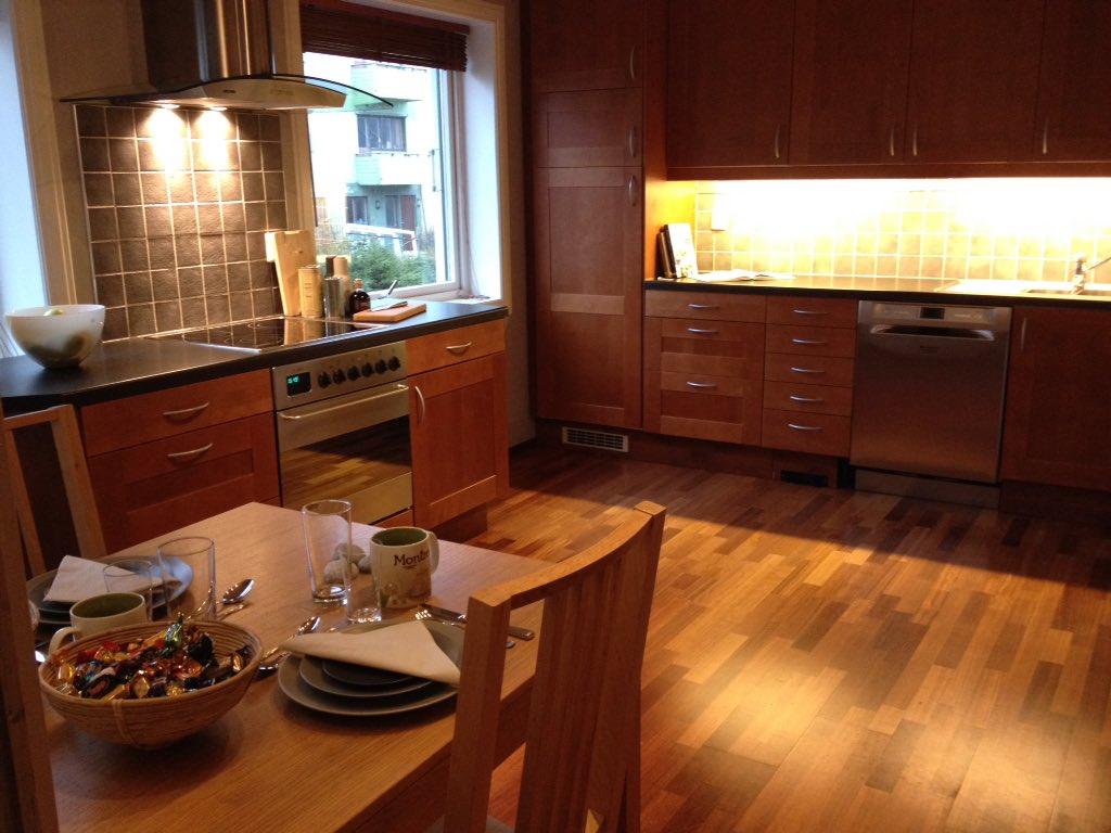"""Turid helen f. lunde on twitter: """"#visning i vårt nydelige kjøkken ..."""