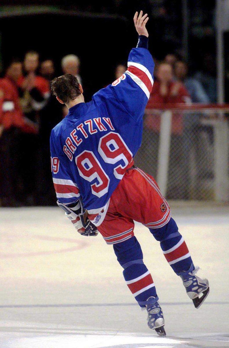 Retiring in April 1999 New York Rangers