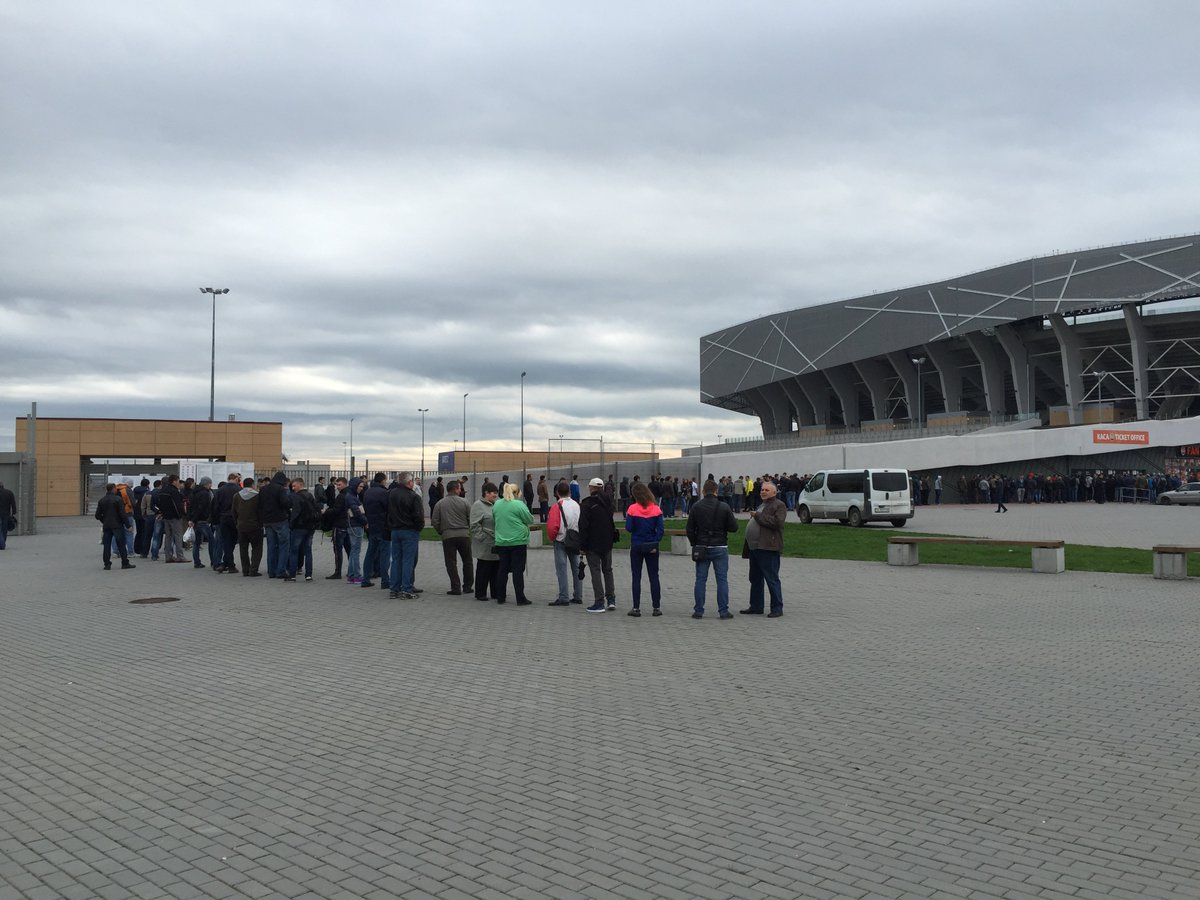 Ажиотаж во Львове. Как покупают билеты на матчи Шахтера с Севильей и Динамо - изображение 2