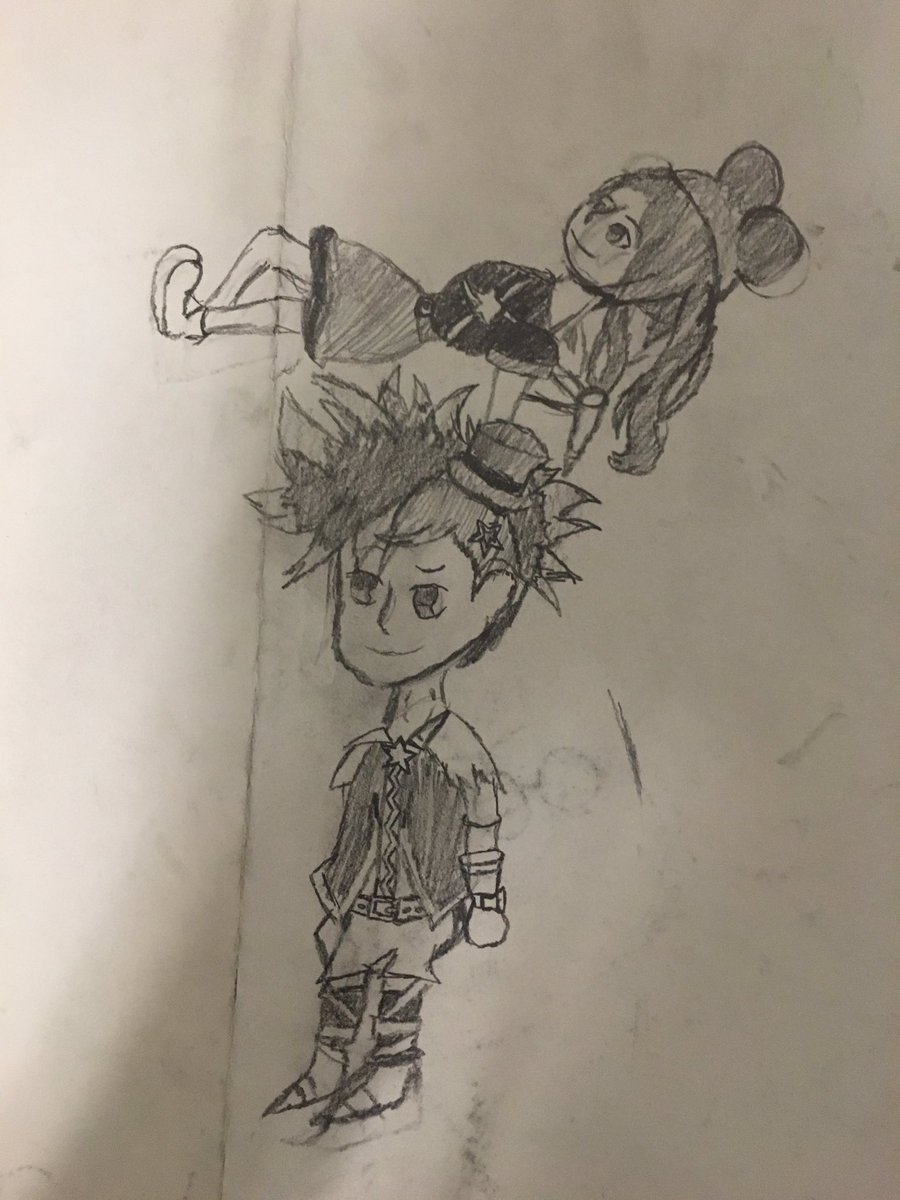 Drawing characters from unchained