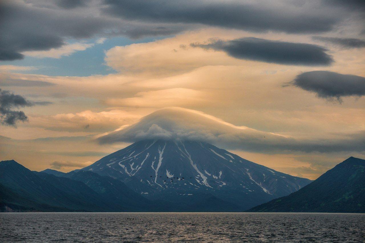 фотографии вилючинского вулкана на камчатке углам