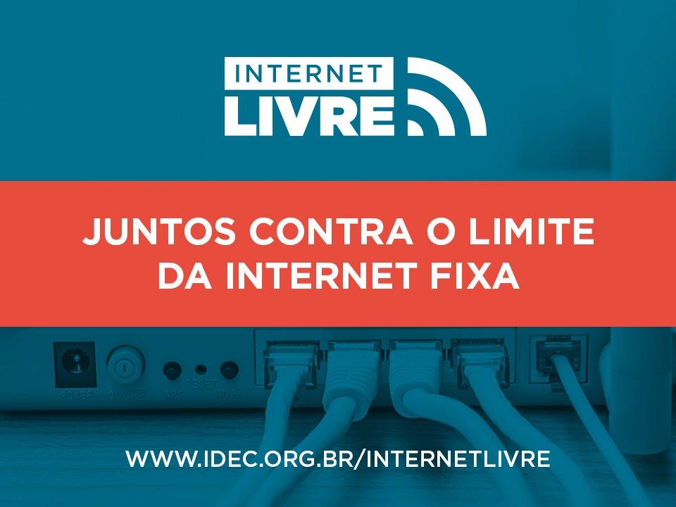Diga não ao bloqueio na Internet! Conheça a campanha do @idec: https://t.co/0jcJyaFO1X #InternetLivre #InternetJusta https://t.co/SeIsTODNrN