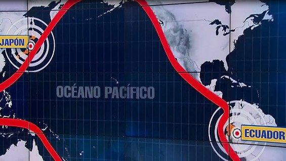 INGV spiega i terremoti in Giappone e in Ecuador