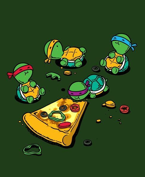 Susie mcbeth on twitter when you eat too much pizza - Tortues ninja pizza ...