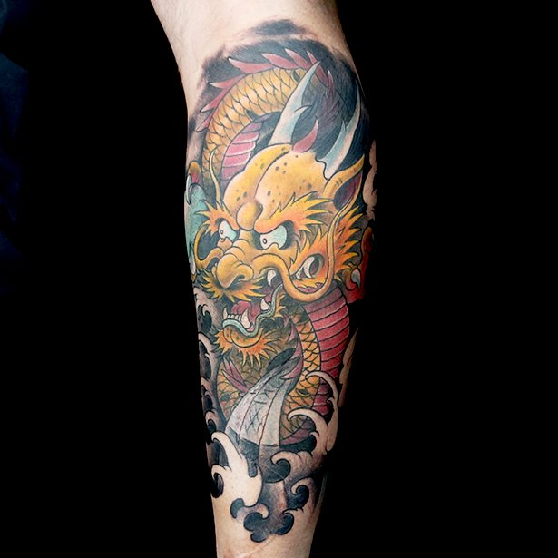 Ink master on twitter japanese dragons are tough who do for Leviticus on tattoos