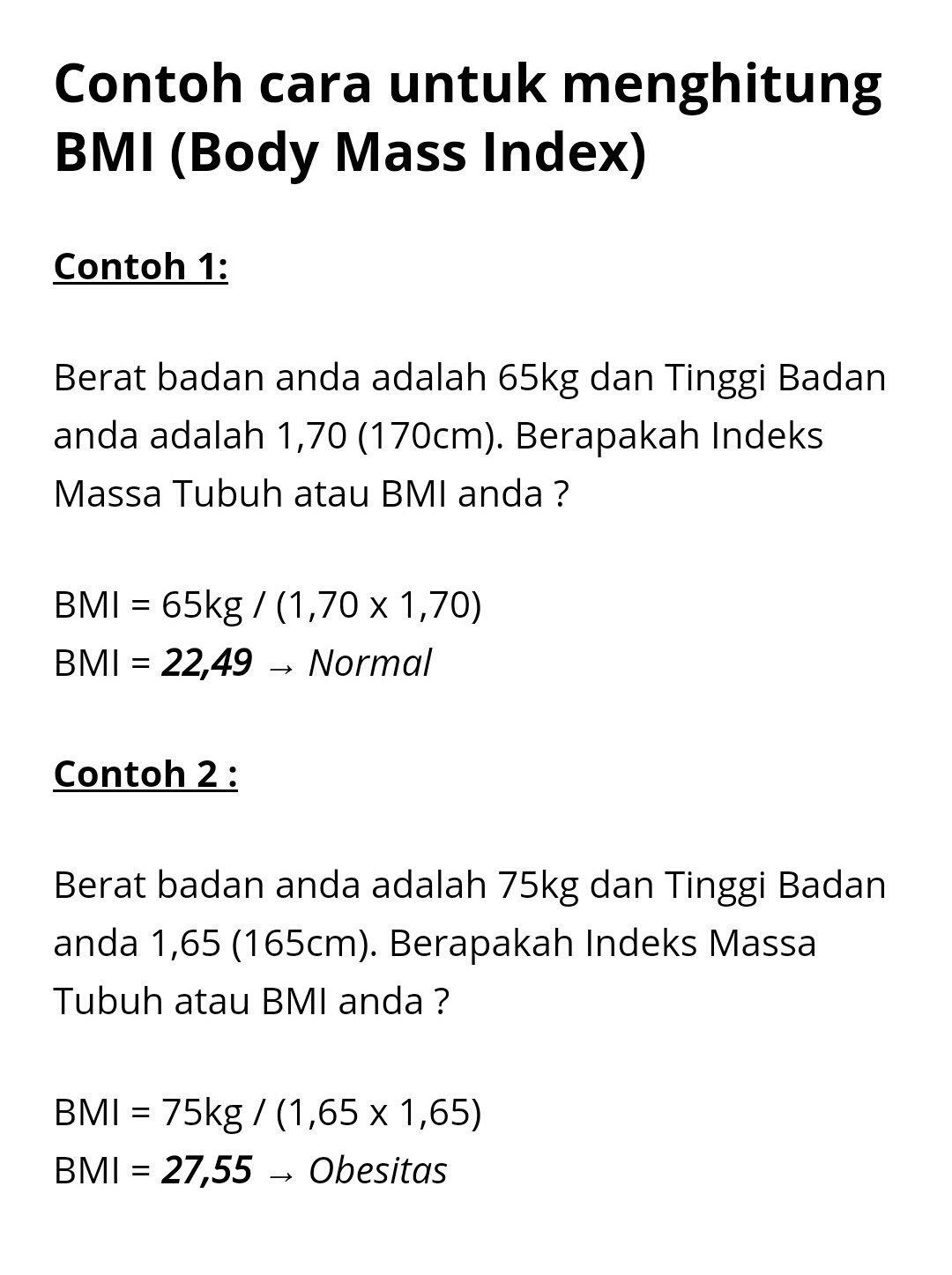 Tni Angkatan Udara On Twitter Mas Dhafinle Berikut Ini Cara Mengukur Berat Badan Ideal Body Mass Index Dmmp