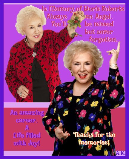 #DorisRoberts was compassionate, joyful & an inspiration. We're blessed she is forever on film.