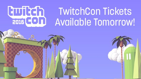 Are you ready?!?  @TwitchCon tickets go on sale tomorrow morning at 6AM PT!  WOOHOO! https://t.co/tmFO5qcXBa