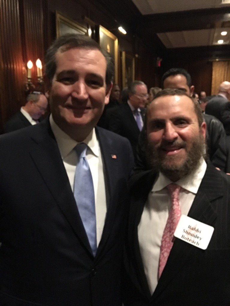 With @tedcruz night before the #NewYork primary