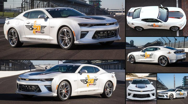 Netcarshow On Twitter 2016 Chevrolet Camaro Ss Indy500 Pace
