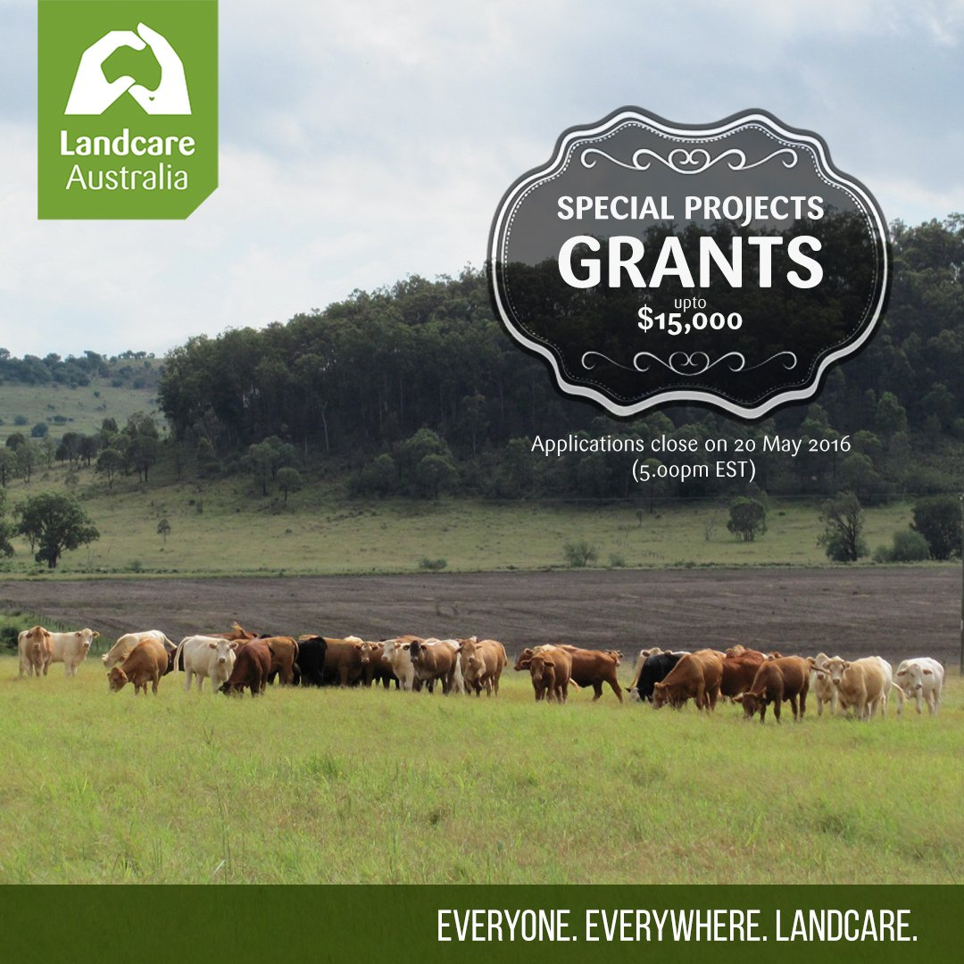 $15,000 grants available to Landcarers for biodiversity and sustainable agriculture projects https://t.co/SA6ZTCRSkK https://t.co/7yC6dSoGRZ