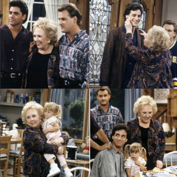 RIP @doris_roberts - you were a dream to work with. Such beauty, so funny and so charming. @bobsaget @JohnStamos https://t.co/dFqmq7KuLL
