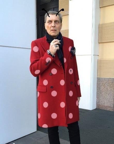 составе невзоров в красном пальто фото была, поэтому