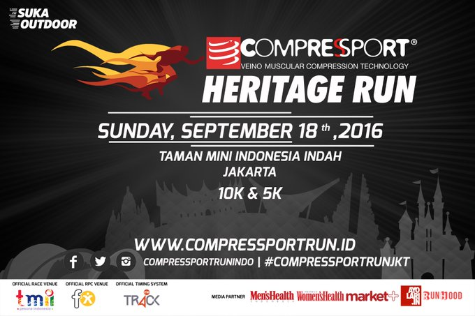 Compressport Heritage Run ∙ 2016