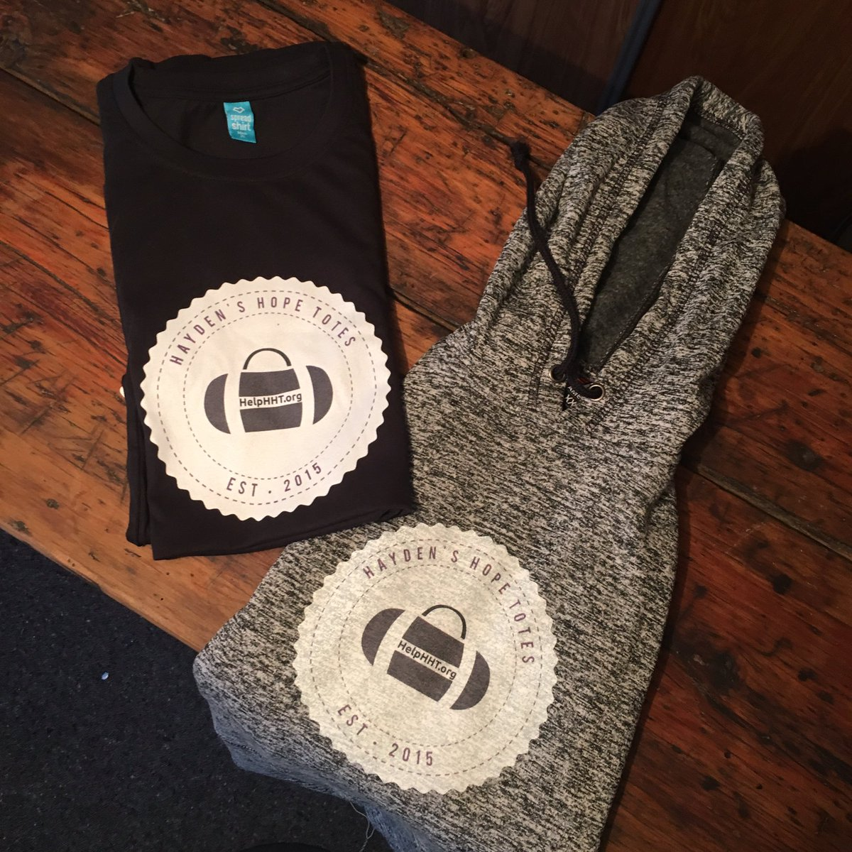 My @Haydenshopetote gear arrived! The hoodie is extremely comfortable & helps spread the word about a great cause