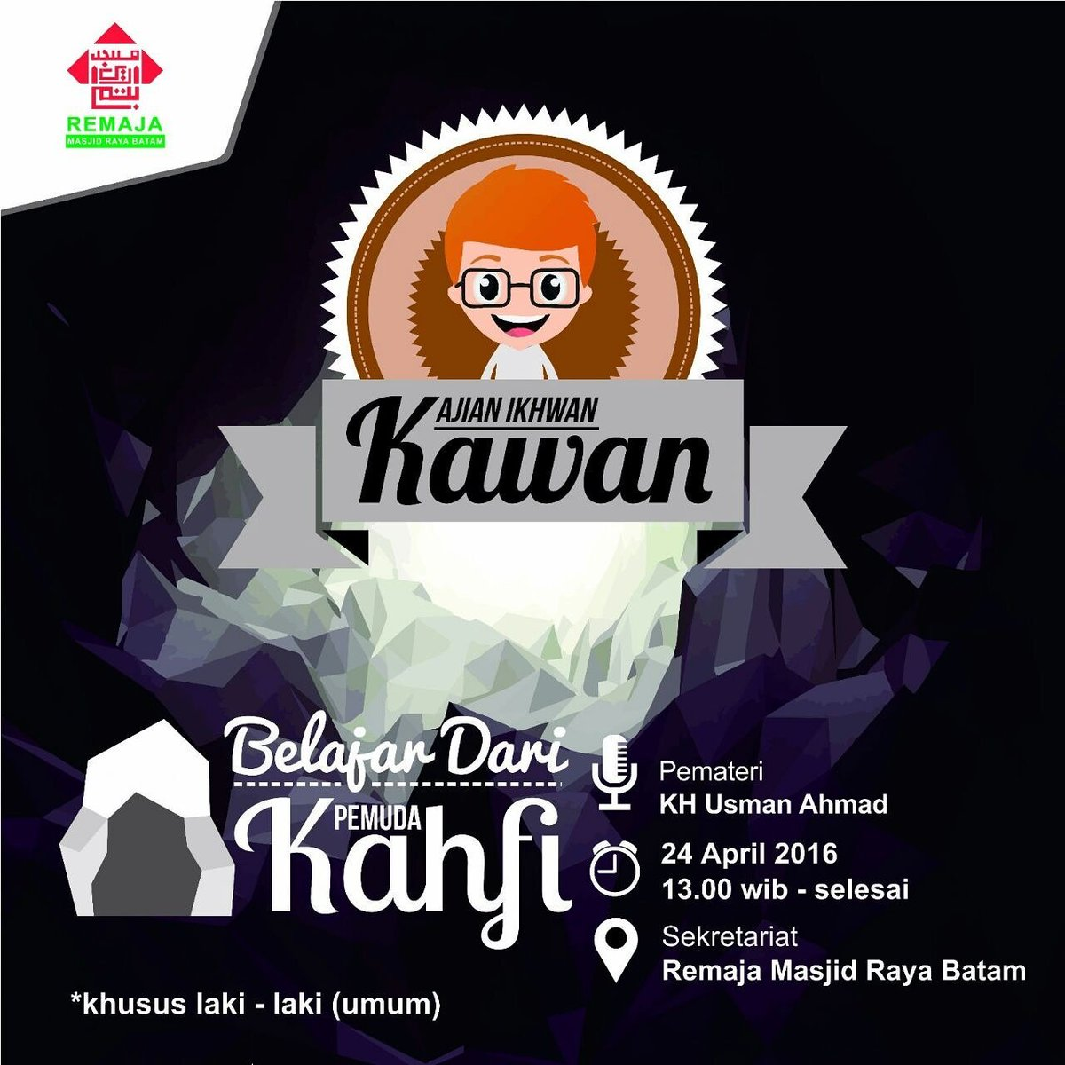 Remaja Masjid Batam On Twitter Kawan Belajar Dari Pemuda Kahfi