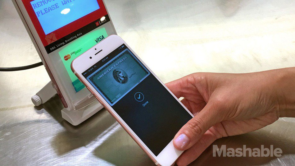 Apple Pay comes to Singapore