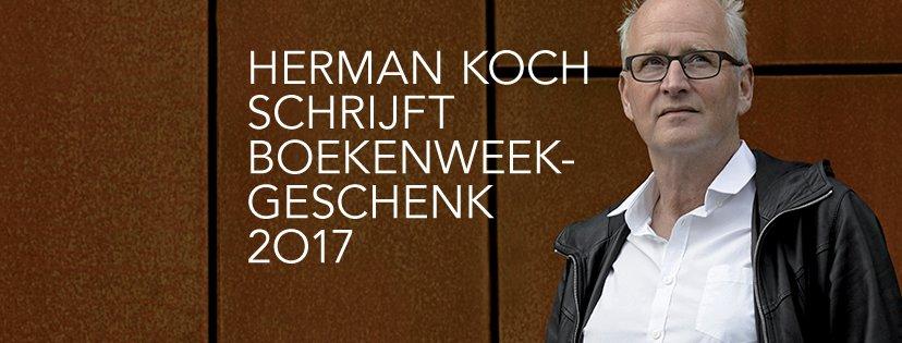Auteur van het Boekenweekgeschenk 2017 is Herman Koch! #Boekenweek https://t.co/r7Uxn3JFFr
