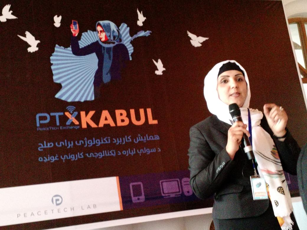 #ptxkabul idea: work with telecom companies to connect women to their rights. Government will support! #kabul https://t.co/P3zeYih0IG