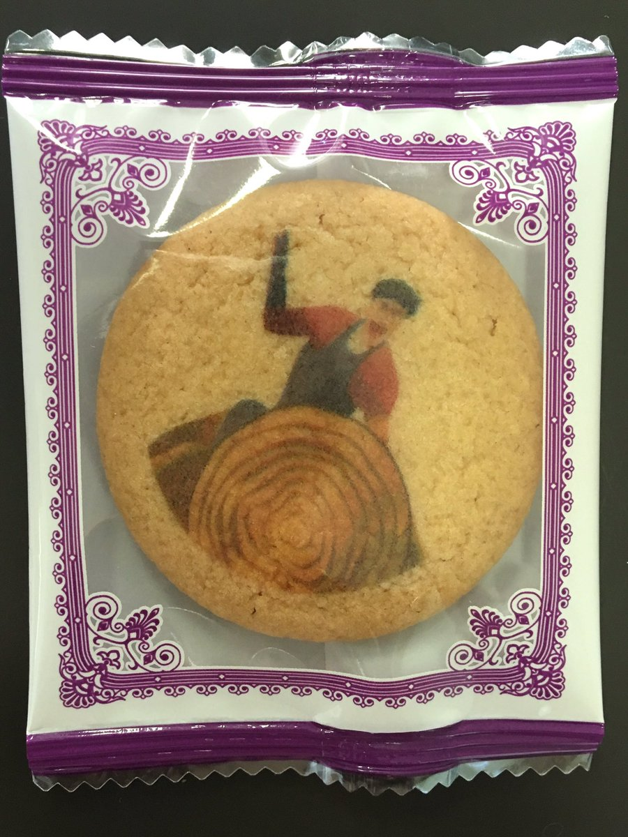 学校にあった御柱祭のクッキーが素敵すぎる。 https://t.co/xeSdZPkgE1