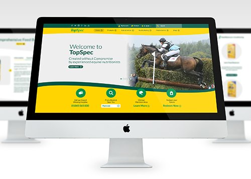 Hold your horses - we've launched @TopSpec2's new site, check it out: https://t.co/SNOMOR1Zb7 #webdesign https://t.co/IYhb7EIkeX