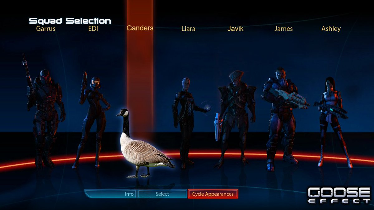 Welcome Ganders to the fireteam. Check out the BioWare Goose Cam here. https://t.co/pQ4gnRPY7C https://t.co/FHu6w1i3JK