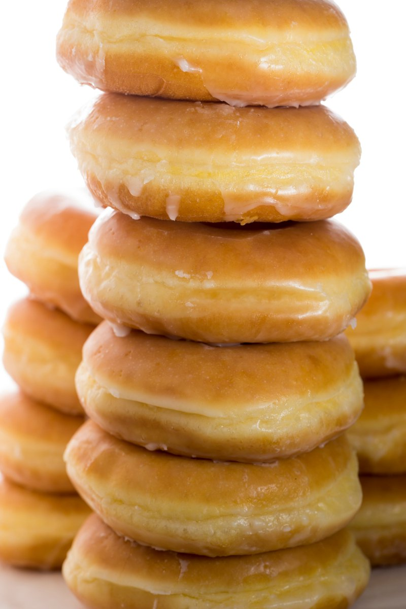 We have HOT Doughnuts coming off the line now...