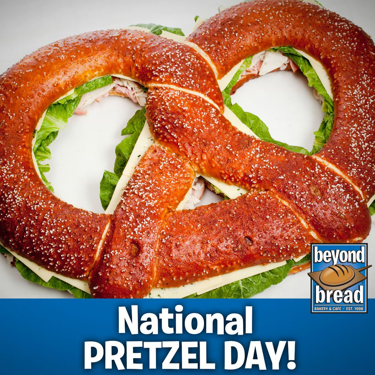 Beyond Bread On Twitter Happy NationalPretzelDay Who Else Would Make A Giant Pretzel And Put Sandwich It Only BeyondBread