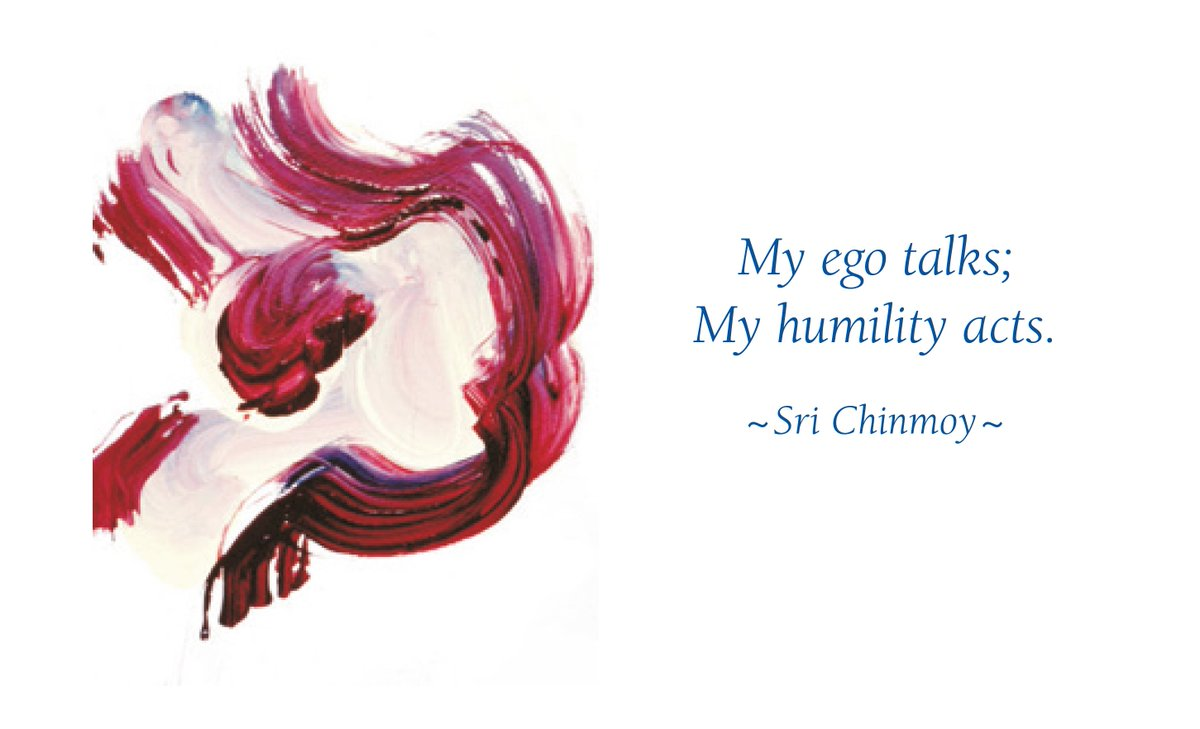 Inner Peace Quotes On Twitter My Ego Talks My Humility Acts