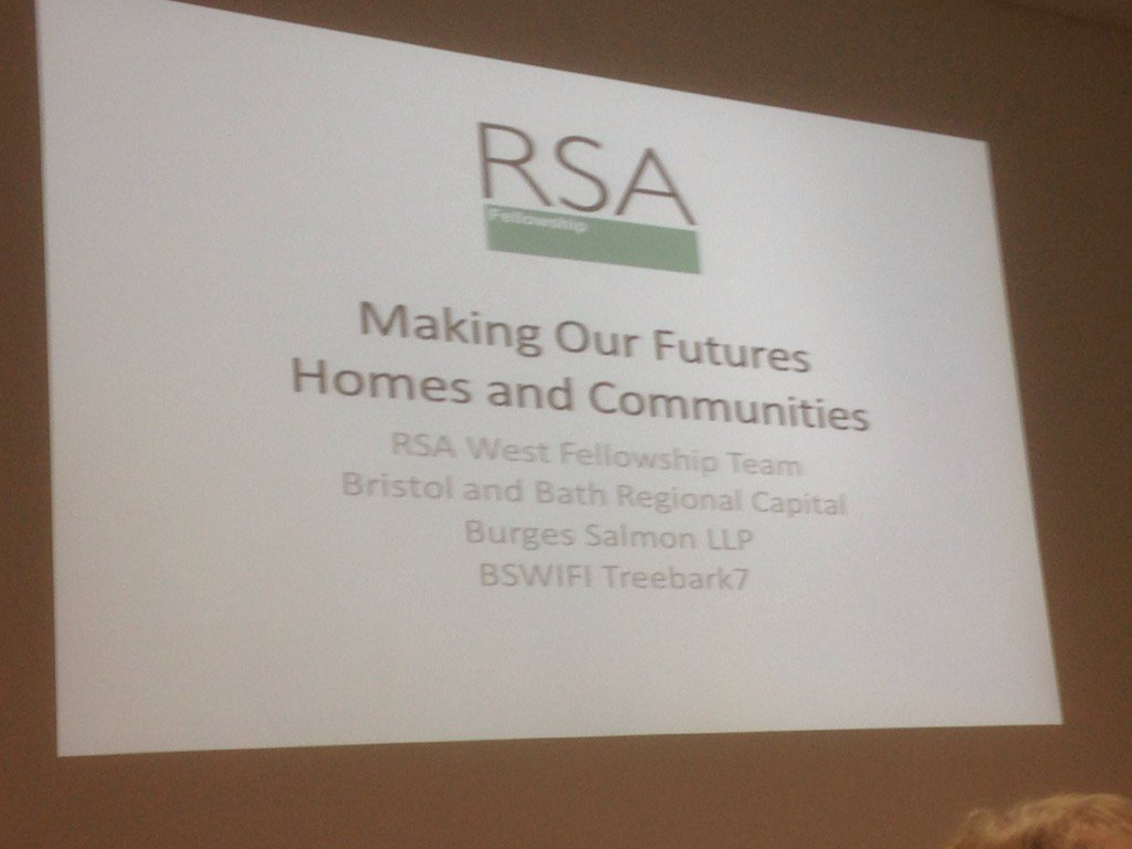 The discussion begins! #RSAWest @RSA_West ideas for #bristol on a Tuesday night in the metropolis https://t.co/G3r6EjJY9Y