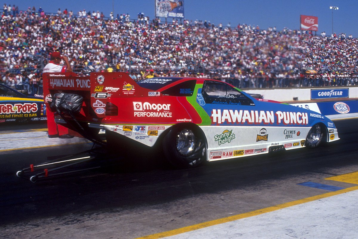 Nhra On Twitter Quot Is Jim White S Hawaiian Punch Funny Car